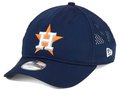Houston Astros New Era MLB Jr Perf Pivot 2 9TWENTY Adjustable Cap