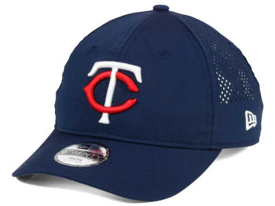 Minnesota Twins New Era MLB Jr Perf Pivot 2 9TWENTY Adjustable Cap