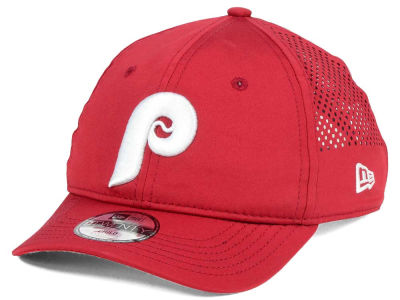 Philadelphia Phillies New Era MLB Jr Perf Pivot 2 9TWENTY Adjustable Cap