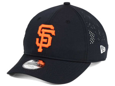 San Francisco Giants New Era MLB Jr Perf Pivot 2 9TWENTY Adjustable Cap