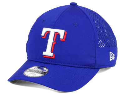 Texas Rangers New Era MLB Jr Perf Pivot 2 9TWENTY Adjustable Cap