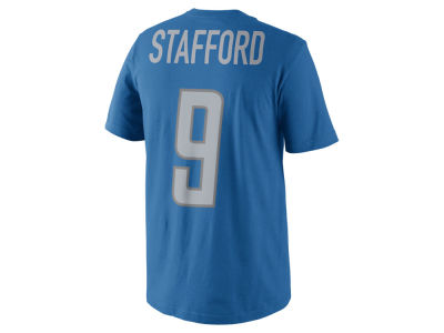 Detroit Lions Matthew Stafford Nike NFL Men's Pride Name and Number T-Shirt
