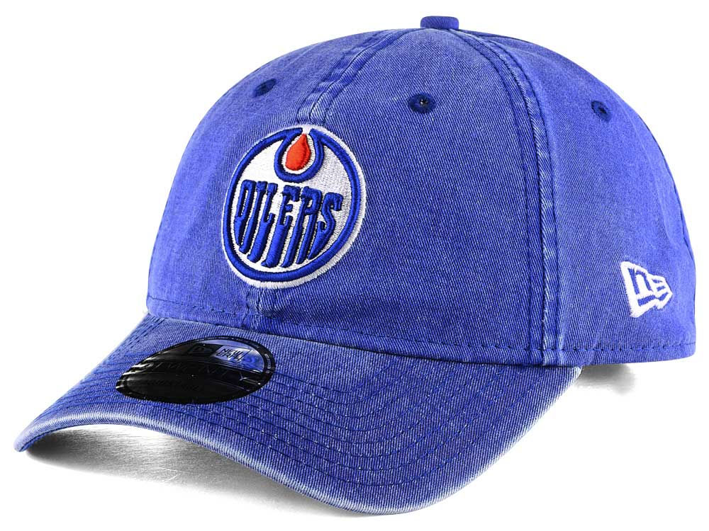 buy popular 5d2bd 8cdba ... spain edmonton oilers new era nhl rugged wash 9twenty strapback cap  bb376 0f4f7