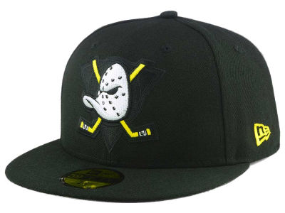 Anaheim Ducks New Era NHL Logo Popped 59FIFTY Cap