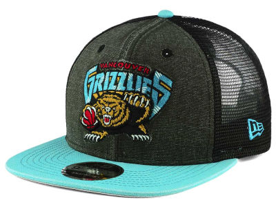 Vancouver Grizzlies New Era NBA Rugged Trucker Adjustable Cap