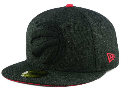 Toronto Raptors New Era NBA Jumbo Heather Fitted 59FIFTY Cap