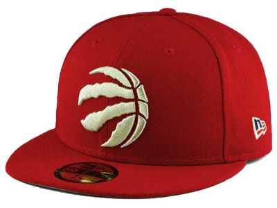 Toronto Raptors New Era NBA Patriotic Trim Fitted 59FIFTY Cap