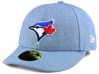Toronto Blue Jays New Era MLB Low Profile Heather Ace 59FIFTY Cap