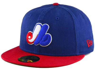 Montreal Expos New Era MLB Washed Essential 59FIFTY Cap