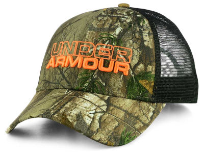 Under Armour Real Tree Trucker Snapback Cap