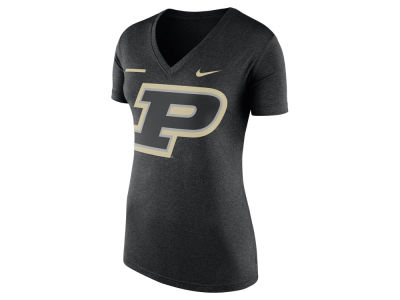 Purdue Boilermakers Nike NCAA Women's Stripe Bar T-Shirt