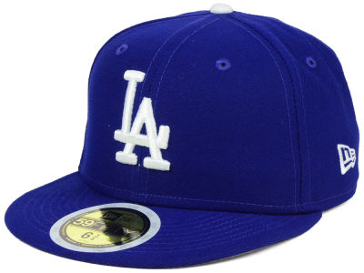 Los Angeles Dodgers New Era MLB Authentic Collection 59FIFTY Cap 1bb5dad00d3f