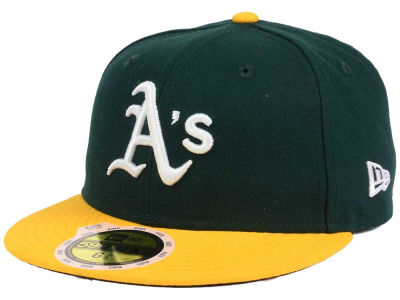 Oakland Athletics New Era MLB Authentic Collection 59FIFTY Cap