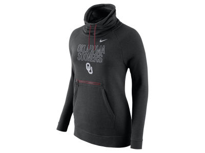 Oklahoma Sooners Nike NCAA Women's Funnel Neck Hoodie