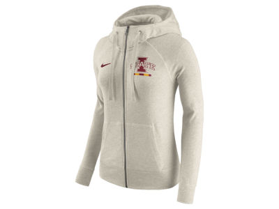Iowa State Cyclones Nike NCAA Women's Gym Vintage Full-Zip Hoodie