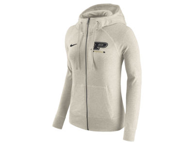Purdue Boilermakers Nike NCAA Women's Gym Vintage Full-Zip Hoodie