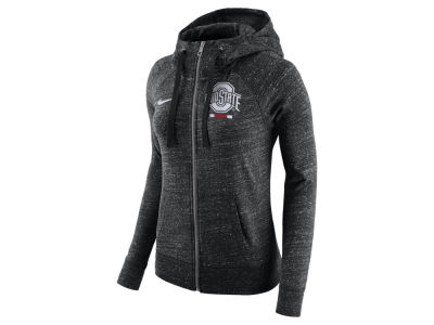 Ohio State Buckeyes Nike NCAA Women's Gym Vintage Full-Zip Hoodie