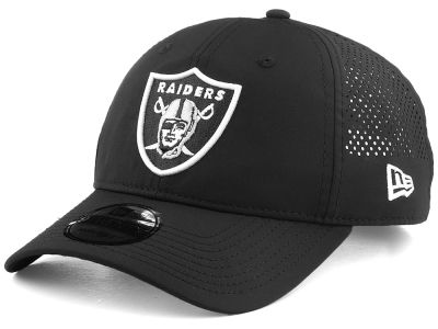 Oakland Raiders New Era NFL Perf Pivot 2 9TWENTY Cap