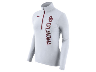 Oklahoma Sooners Nike NCAA Women's Stadium Element Quarter Zip Pullover
