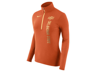 Oklahoma State Cowboys Nike NCAA Women's Stadium Element Quarter Zip Pullover