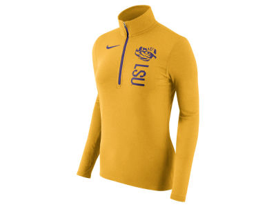 LSU Tigers Nike NCAA Women's Stadium Element Quarter Zip Pullover
