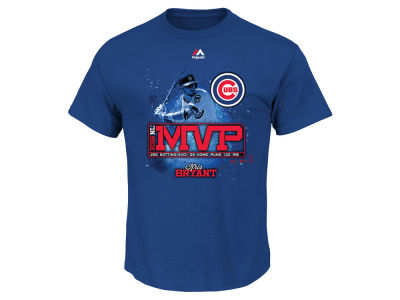 Chicago Cubs Kris Bryant 2016 MLB Men's MVP T-Shirt