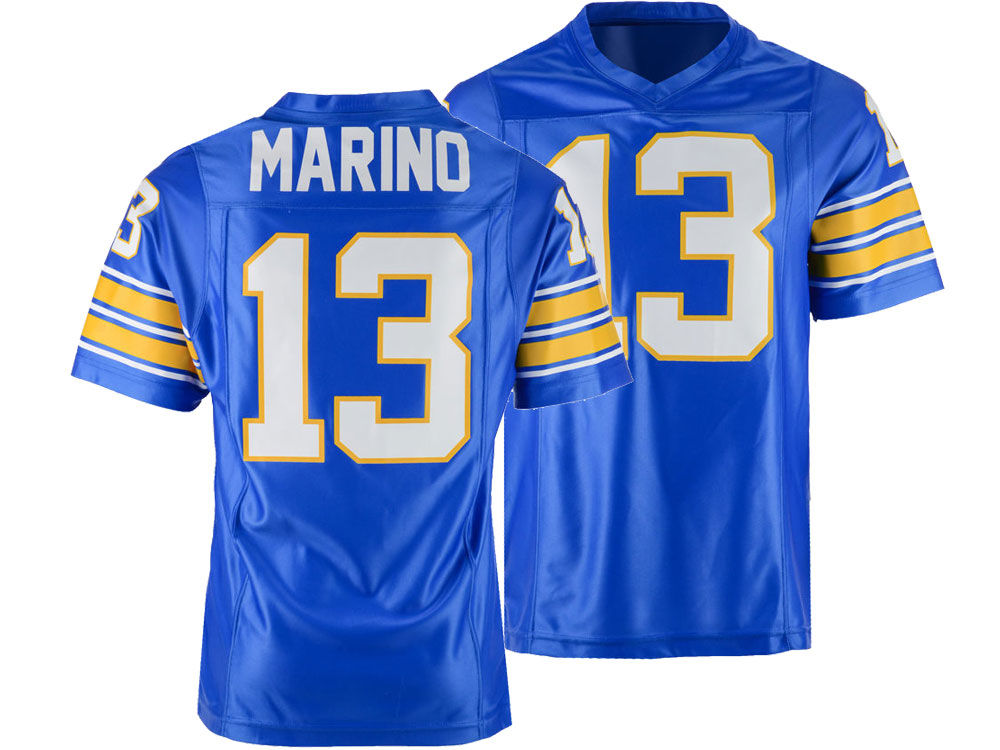 eb5943d89 Pittsburgh Panthers Dan Marino Retro Brand NCAA Men s Throwback Jersey