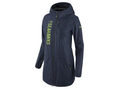 Seattle Seahawks Nike NFL Women's Full Zip Hooded Tote Jacket