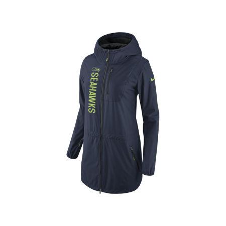 Seattle Seahawks Nike NFL Women's Full Zip Hooded Tote Jacket