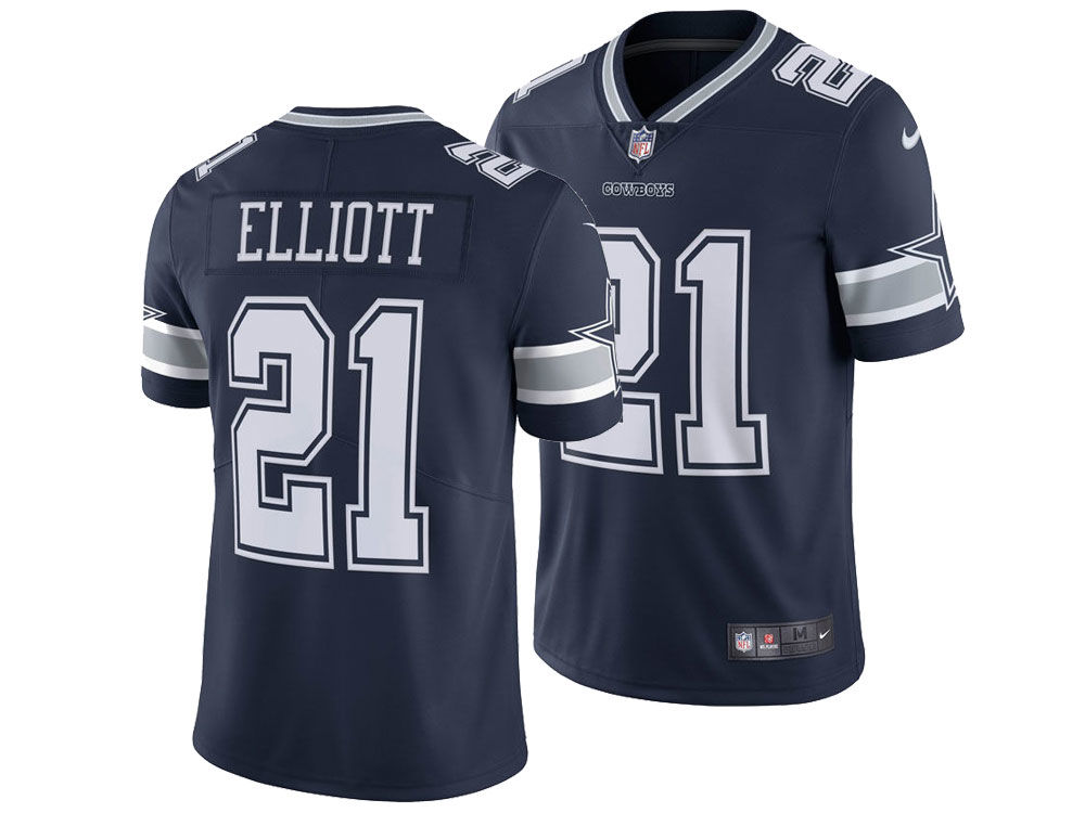 3997886df Dallas Cowboys Ezekiel Elliott Nike NFL Men s Vapor Untouchable Limited  Jersey