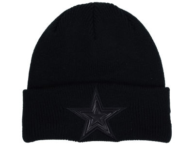 Dallas Cowboys New Era Black Bevel Knit