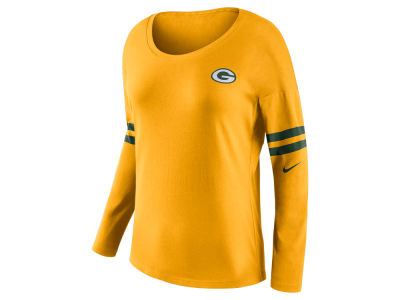 Green Bay Packers Nike NFL Women's Tailgate Long Sleeve Top