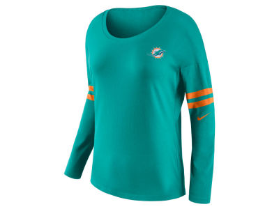 Miami Dolphins Nike NFL Women's Tailgate Long Sleeve Top