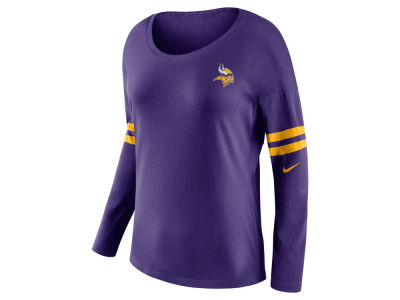 Minnesota Vikings Nike NFL Women's Tailgate Long Sleeve Top