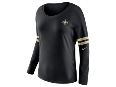 New Orleans Saints Nike NFL Women's Tailgate Long Sleeve Top