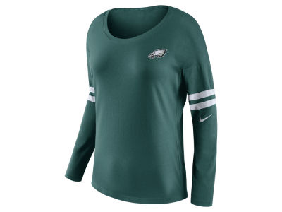 Philadelphia Eagles Nike NFL Women's Tailgate Long Sleeve Top