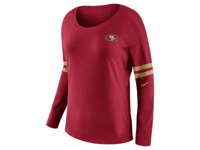 San Francisco 49ers Nike NFL Women's Tailgate Long Sleeve Top
