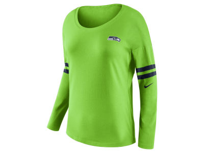 Seattle Seahawks Nike NFL Women's Tailgate Long Sleeve Top