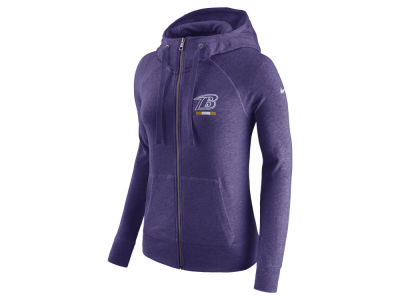 Baltimore Ravens Nike NFL Women's Gym Vintage Full Zip Hoodie