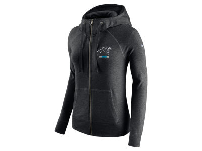 Carolina Panthers Nike NFL Women's Gym Vintage Full Zip Hoodie
