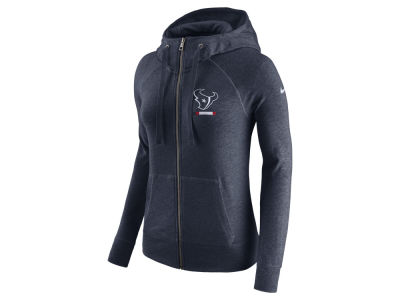 Houston Texans Nike NFL Women's Gym Vintage Full Zip Hoodie
