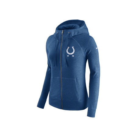 Indianapolis Colts Nike NFL Women's Gym Vintage Full Zip Hoodie