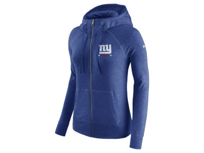 New York Giants Nike NFL Women's Gym Vintage Full Zip Hoodie
