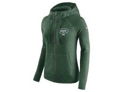 New York Jets Nike NFL Women's Gym Vintage Full Zip Hoodie