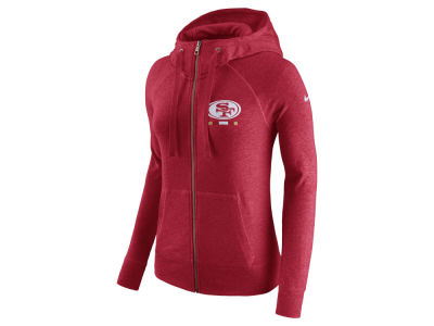 San Francisco 49ers Nike NFL Women's Gym Vintage Full Zip Hoodie