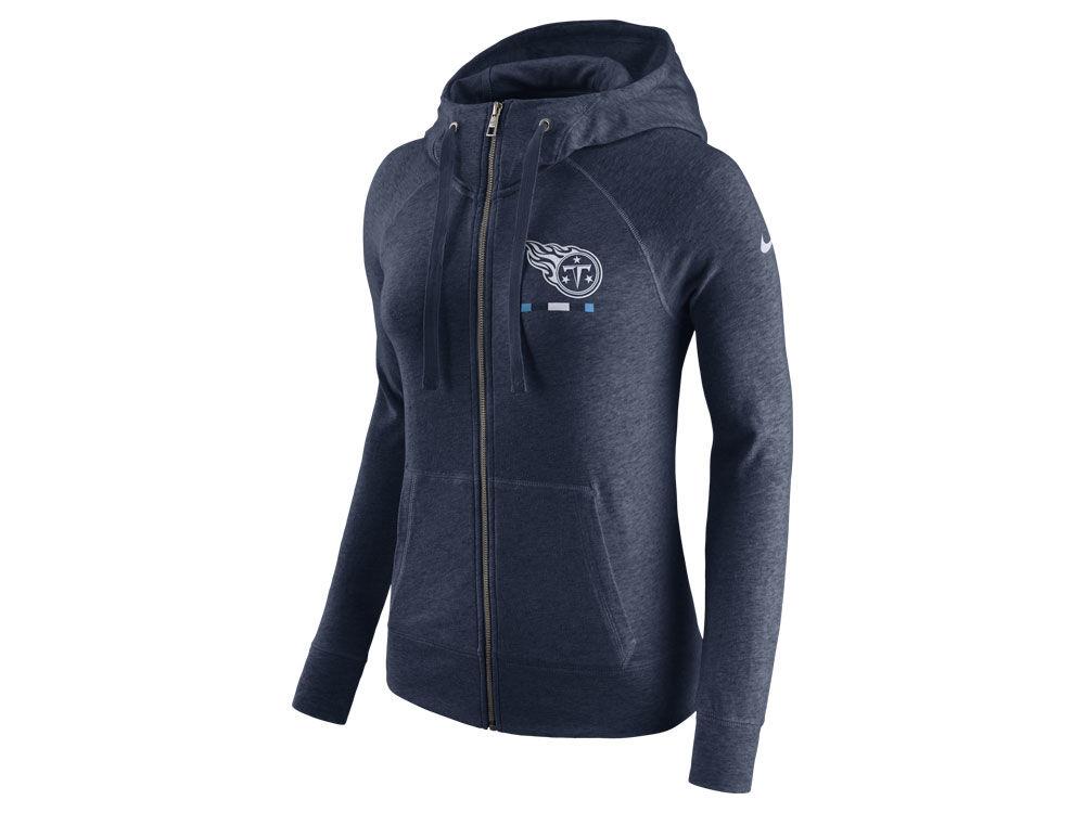 Tennessee Titans Nike NFL Women s Gym Vintage Full Zip Hoodie  bfa1c3cd2