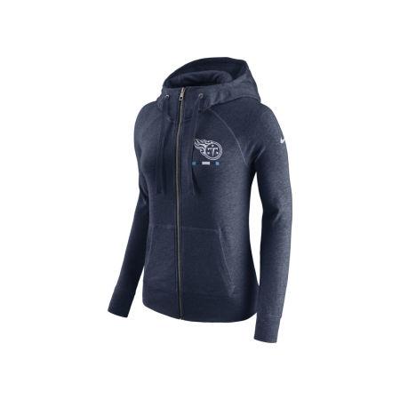 Tennessee Titans Nike NFL Women's Gym Vintage Full Zip Hoodie