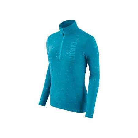 Carolina Panthers Nike NFL Women's Element Quarter Zip Pullover