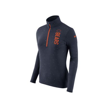 Chicago Bears Nike NFL Women's Element Quarter Zip Pullover