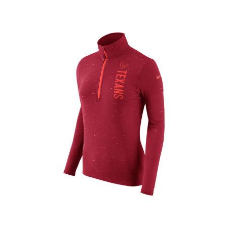 Houston Texans Nike NFL Women's Element Quarter Zip Pullover